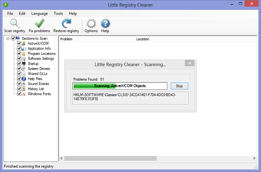 Little Registry Cleaner